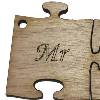 Wooden Mr Puzzle [+€1.00]