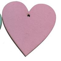Pink Wooden Heart [+€2.00]